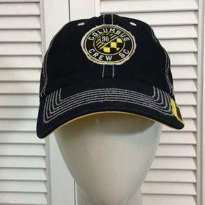 47 Brand Columbus Crew SC 96 SnapBack Hat Black